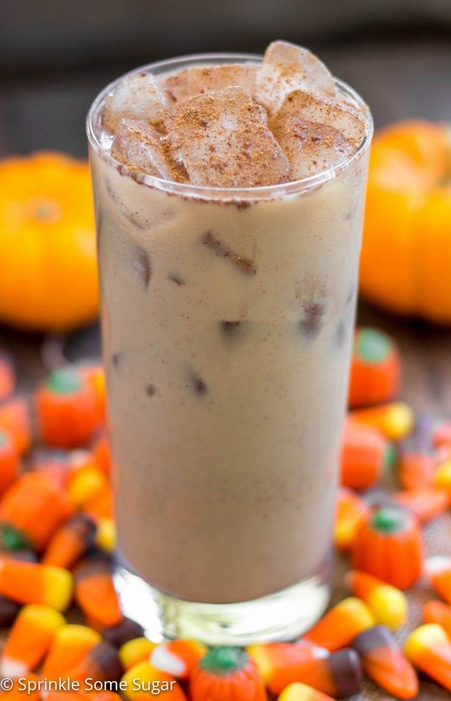 Easy Pumpkin Spice Latte – Sprinkle Some Sugar