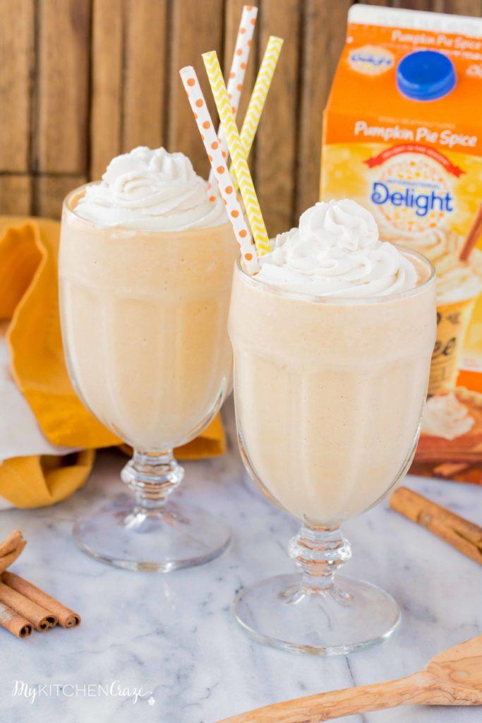 Pumpkin Spice Milkshake – My Kitchen Craze