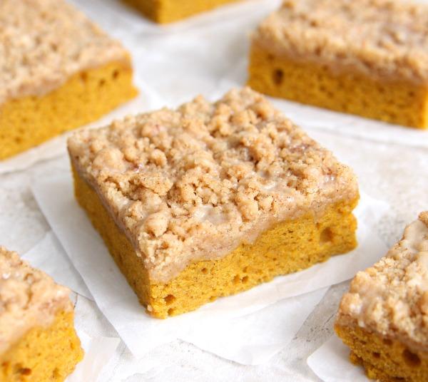 Pumpkin Coffee Cake – Happy-Go-Lucky