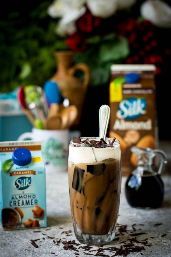 Vegan Choco Caramel Frappé w/ Coffee Jelly – Love is in my Tummy