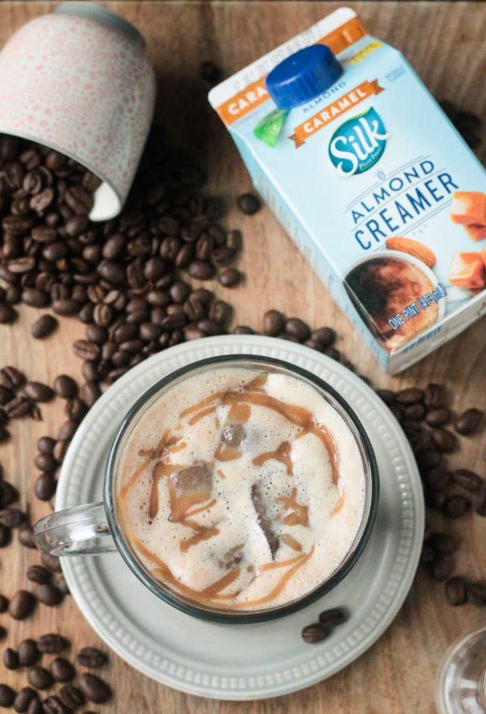 Homemade Iced Caramel Macchiato ~ Veggie Inspired