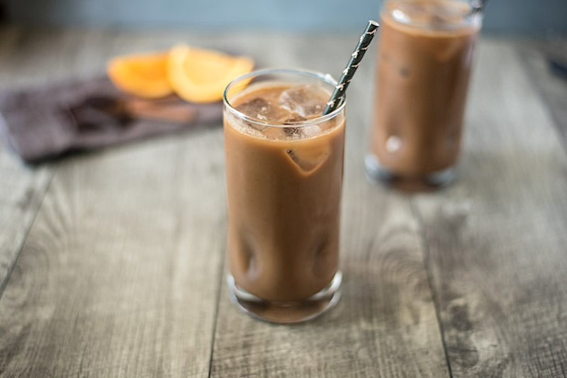 Mexican almond caramel iced mocha – Culinary Ginger
