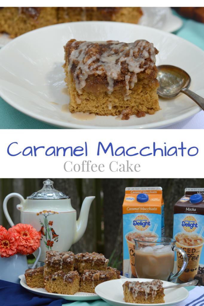 Caramel Macchiato Coffee Cake – My Big Fat Happy Life