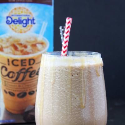 Frozen Caramel Mocha Latte