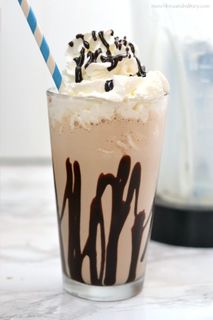 Mocha Freeze Blended Coffee Recipe – Munchkins and the Military