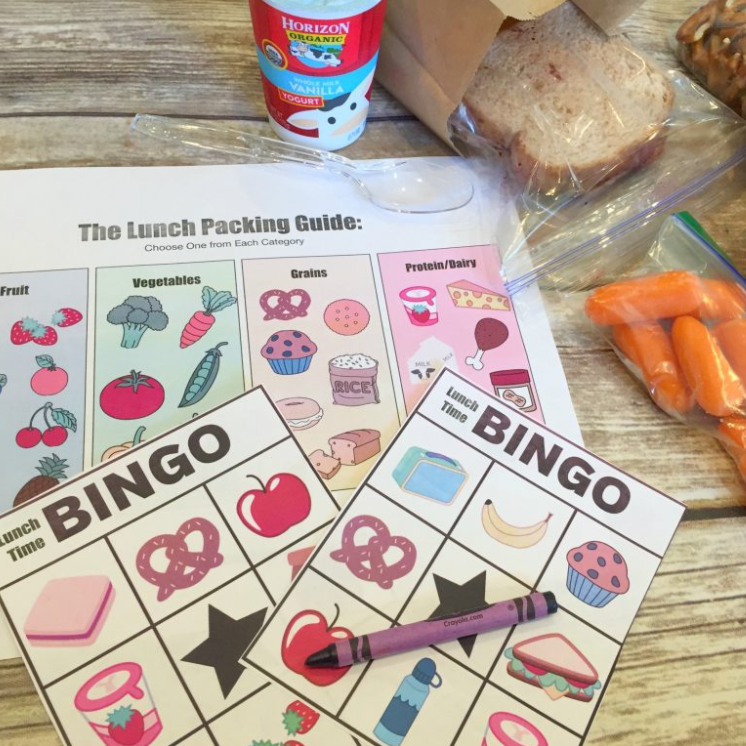 Lunch Time Bingo & Lunch Packing Guide – Teach Beside Me