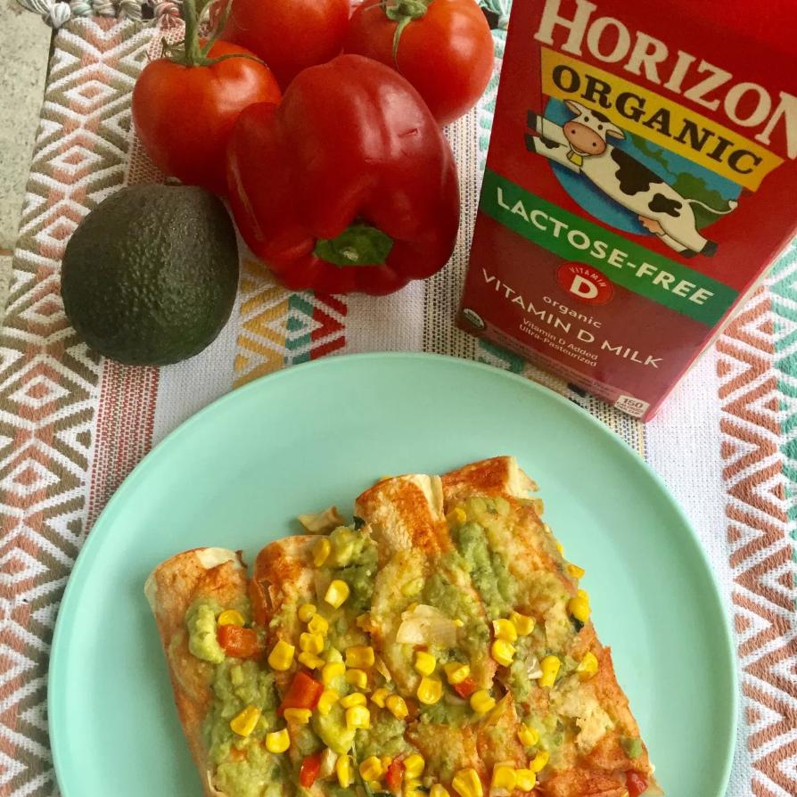 Creamy Veggie Enchiladas – Hispanic Mama