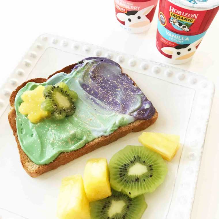 Mermaid Toast (Sponsored)