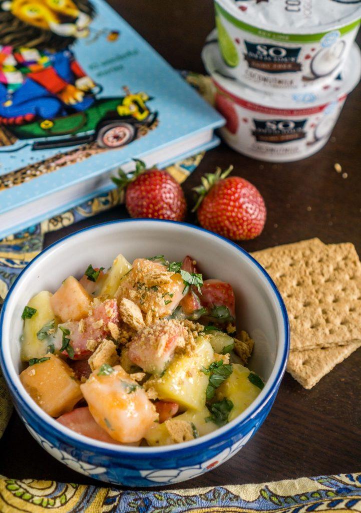 Creamy Fruit Salad with Key Lime Dressing | Babaganosh – Darn Good Food!