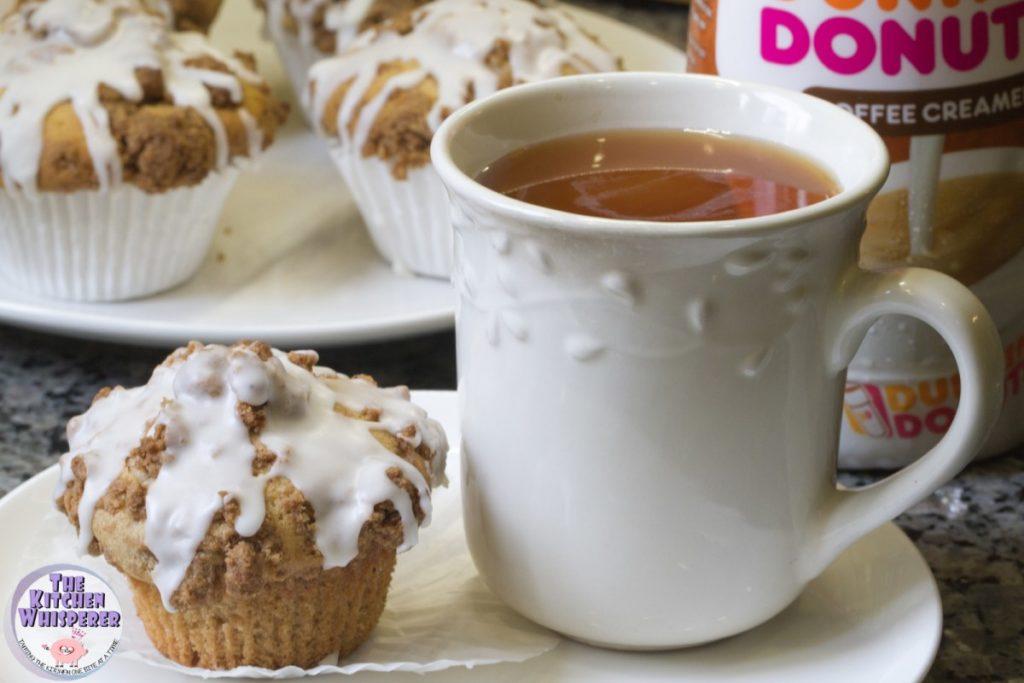Cinnamon Crumb Coffee Cake Muffins