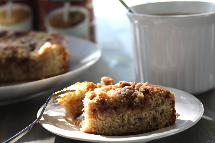Spiced Apple Crumb Coffee Cake | Buy This Cook That