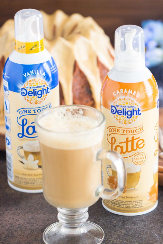 Coffee Walnut Date Cake with Coffee Glaze – The Gold Lining Girl