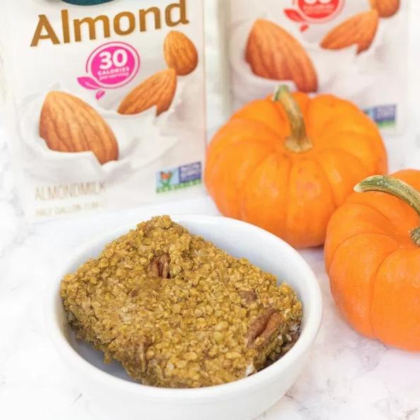 Pumpkin Pecan Baked Oatmeal – Healthy Liv