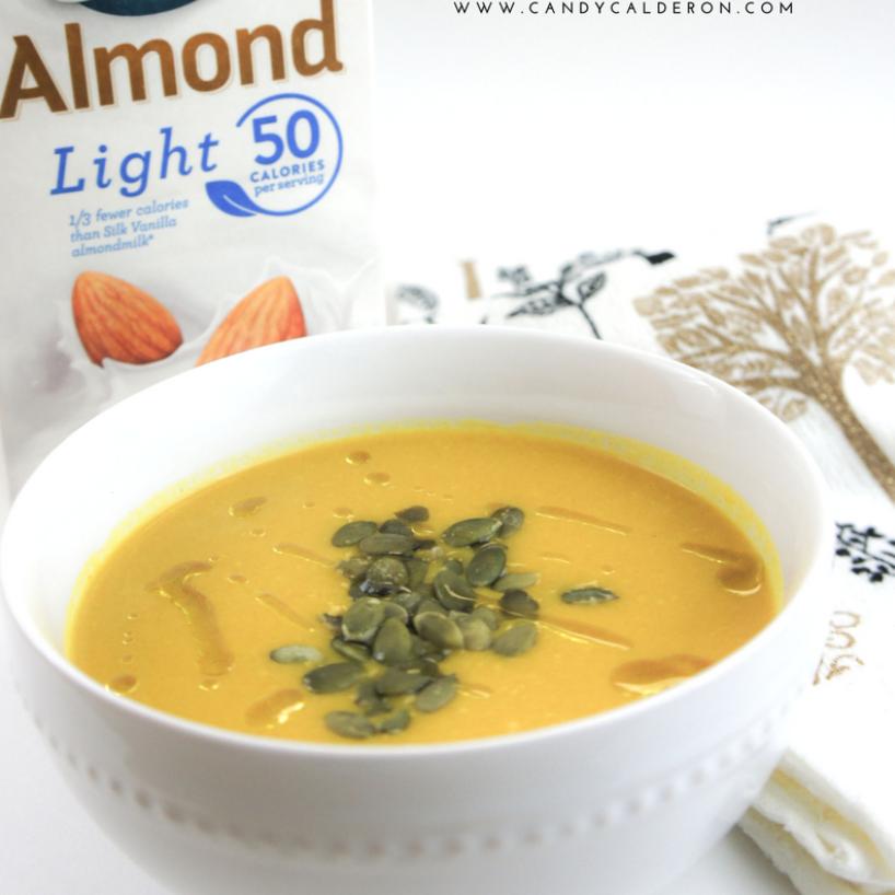 Healing Turmeric – Butternut Squash Soup – Candy Calderon