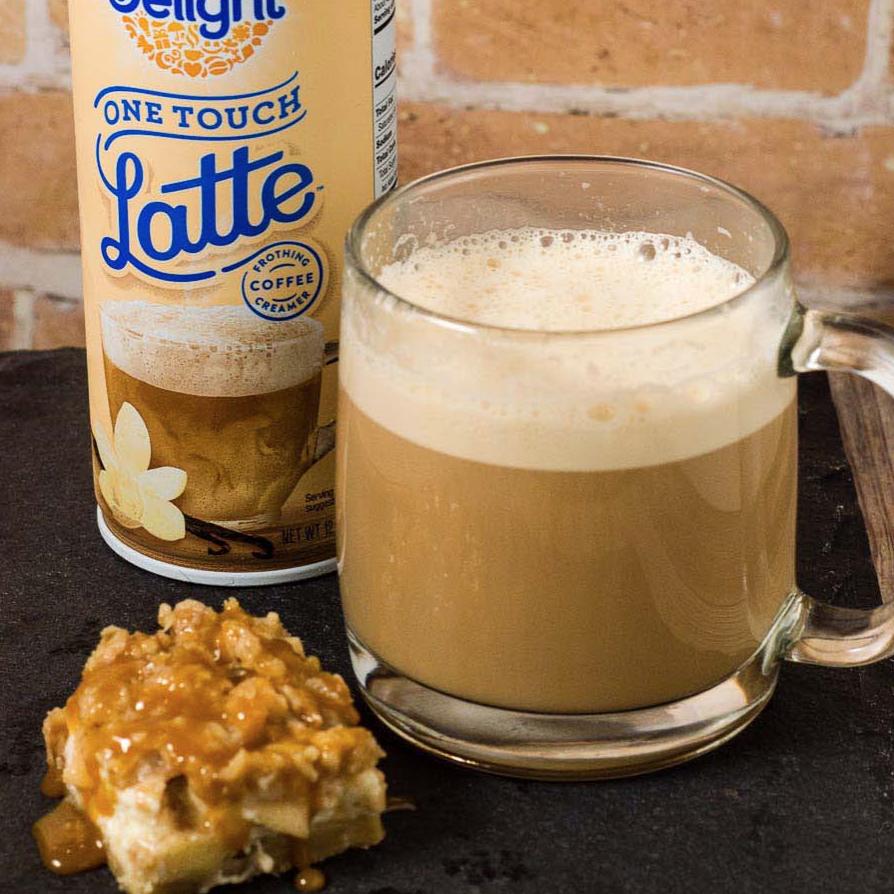 Caramel Apple Cheesecake Bars #LatteMadeEasy