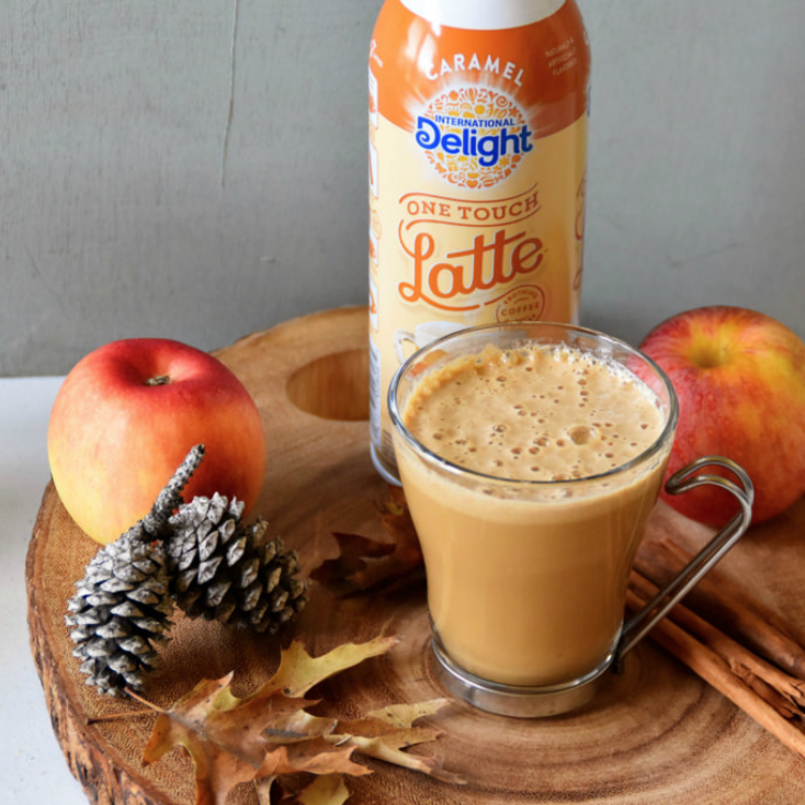 Caramel apple pie latte – Zesty South Indian Kitchen