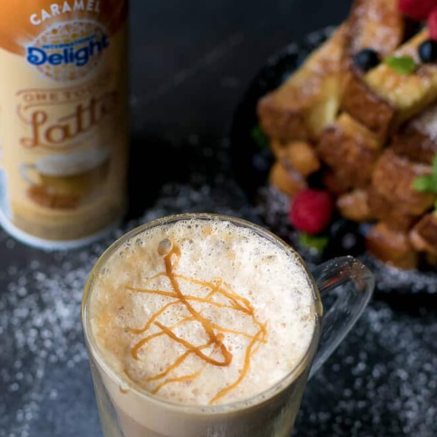 Salted Caramel Latte And Baked French Toast Sticks Recipe – Cooking LSL
