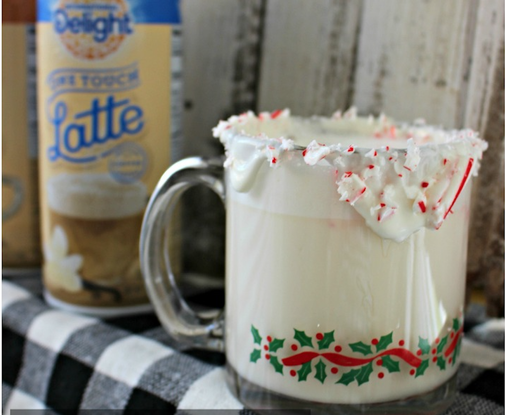 Frothy White Hot Chocolate