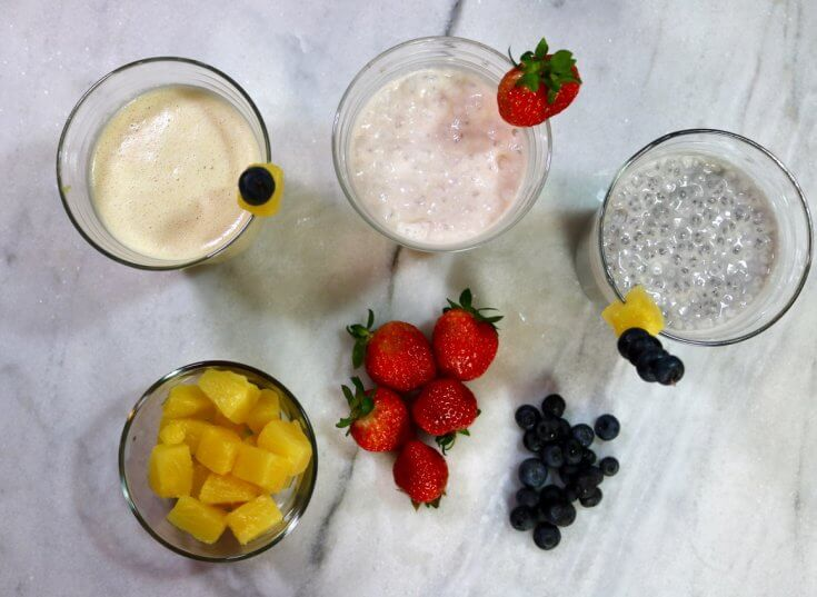 3 Easy Smoothie Recipes For A Healthy Morning Routine – Happy and Blessed Home