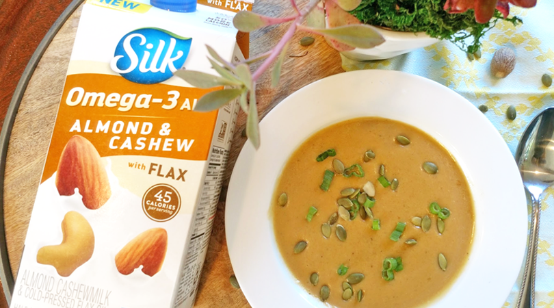 Curried Butternut Squash Soup with Silk Almond & Cashew Milk – BoredMom