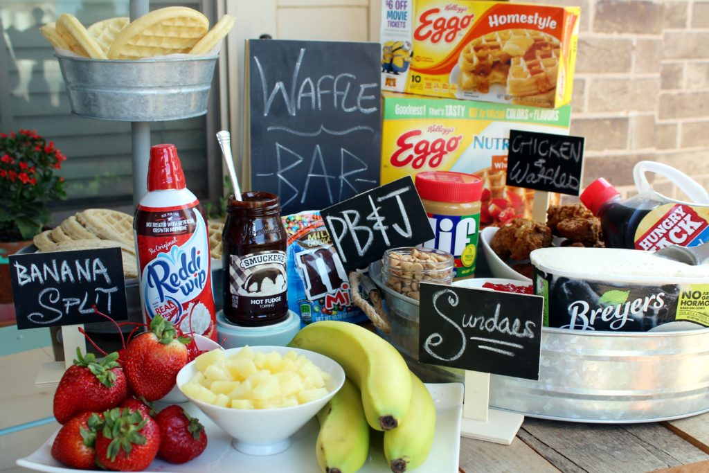 Waffle Bar Tutorial #EggoWaffleBar – addicted to recipes