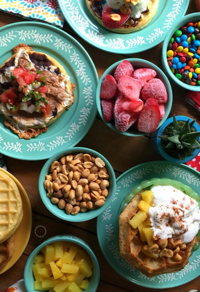 Waffle Breakfast Dinner at the Martin's – Adriana's Best Recipes