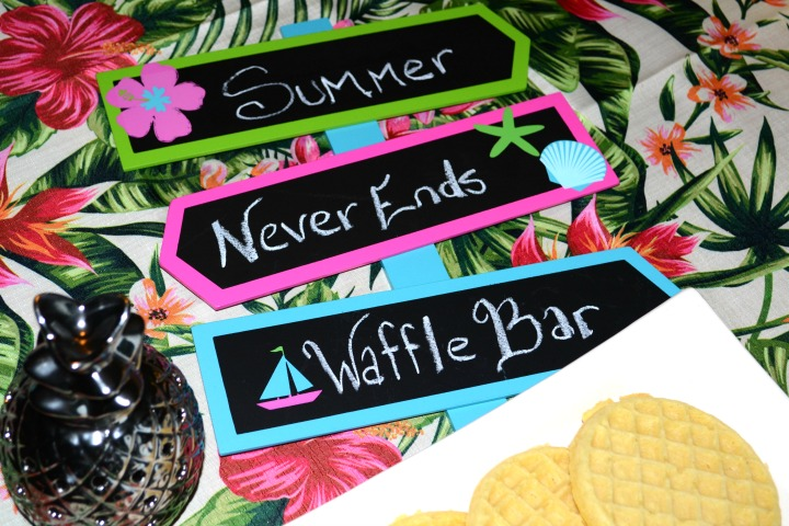 Create A Waffle Bar the Kids Will Let Go of Toys For – Mommy Needs a Bottle