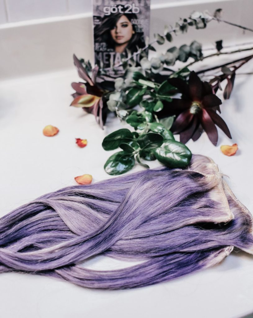 How to: Say Goodbye to Boring Hair With got2b® Metallics & Clip in Extensions