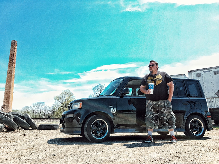The xB Mission: Suburban Exploration, Warm Days and Voltage Polar Pop® cup
