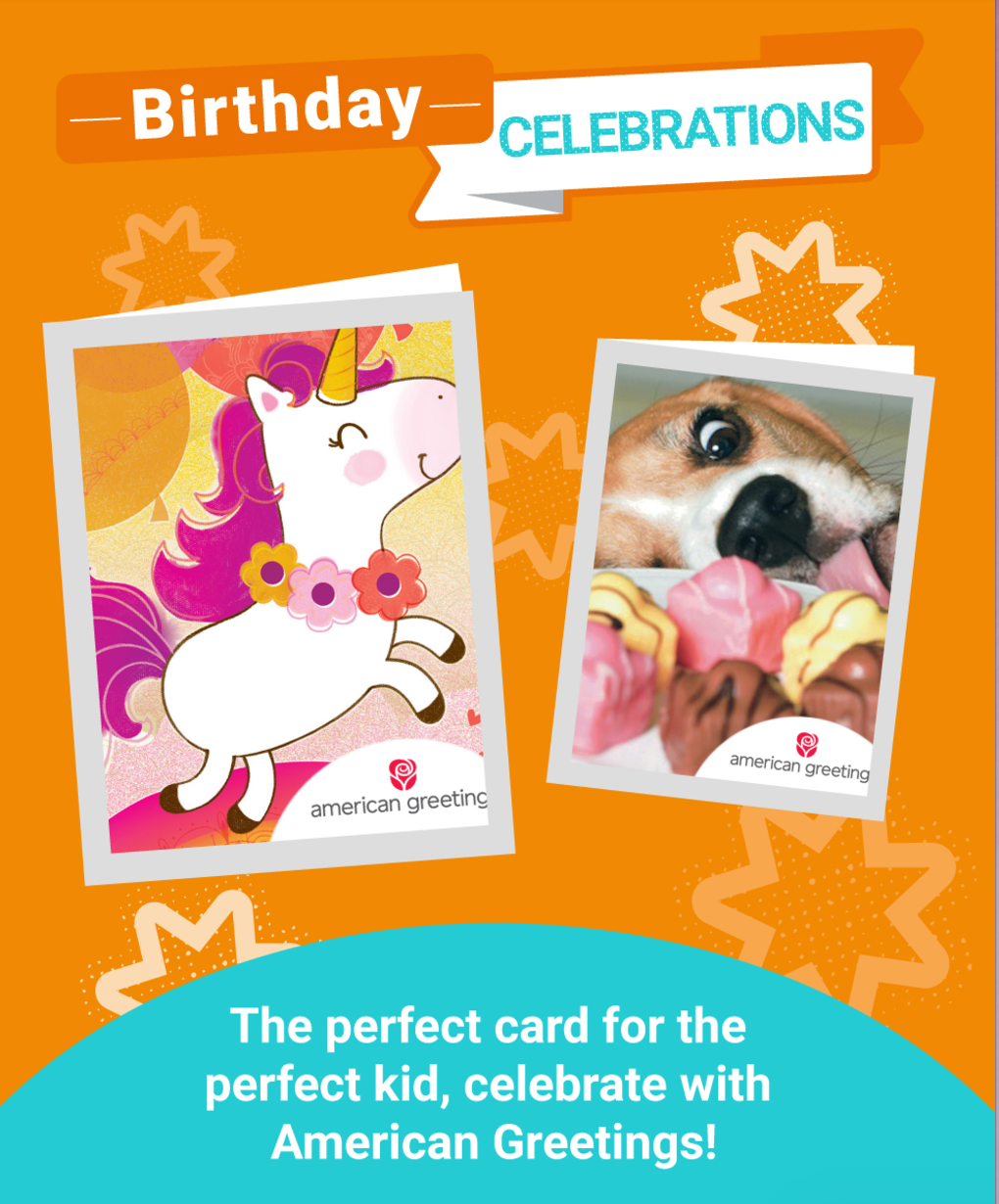 American greetings summer birthday kristyandbryce Image collections